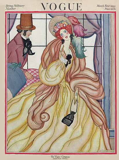 WomenArt Helen Dryden Vogue Cover 1922-03-01 Copyright | 69 Women Cover Artists and 826 Covers 1902-1970