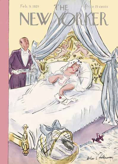 WomenArt Helen E Hokinson The New Yorker 1929_02_09 Copyright | 69 Women Cover Artists and 826 Covers 1902-1970
