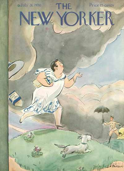 WomenArt Helen E Hokinson The New Yorker 1930_07_26 Copyright | 69 Women Cover Artists and 826 Covers 1902-1970