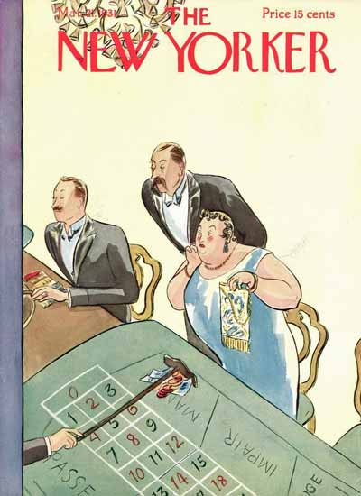 WomenArt Helen E Hokinson The New Yorker 1931_03_21 Copyright | 69 Women Cover Artists and 826 Covers 1902-1970