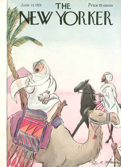 WomenArt Helen E Hokinson The New Yorker 1931_06_13 Copyright | 69 Women Cover Artists and 826 Covers 1902-1970