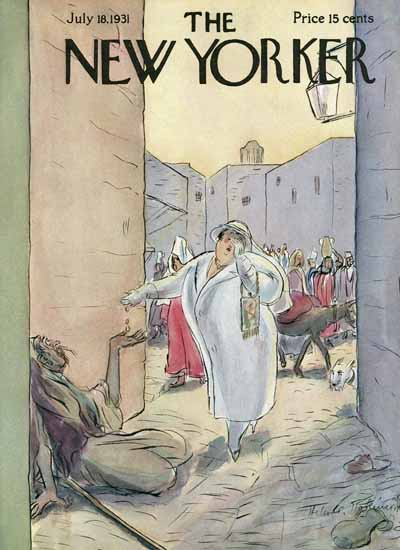 WomenArt Helen E Hokinson The New Yorker 1931_07_18 Copyright | 69 Women Cover Artists and 826 Covers 1902-1970