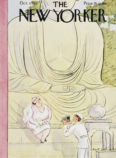 WomenArt Helen E Hokinson The New Yorker 1931_10_03 Copyright | 69 Women Cover Artists and 826 Covers 1902-1970