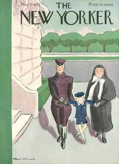 WomenArt Helen E Hokinson The New Yorker 1932_05_21 Copyright | 69 Women Cover Artists and 826 Covers 1902-1970