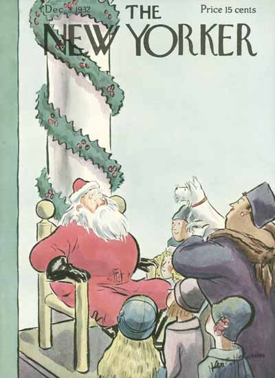 WomenArt Helen E Hokinson The New Yorker 1932_12_03 Copyright | 69 Women Cover Artists and 826 Covers 1902-1970
