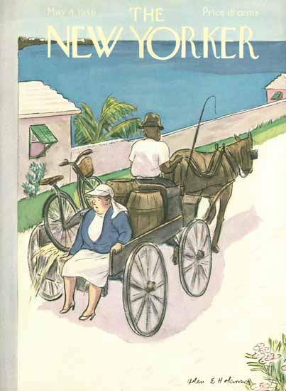 WomenArt Helen E Hokinson The New Yorker 1946_05_04 Copyright | 69 Women Cover Artists and 826 Covers 1902-1970