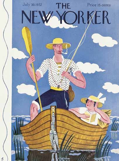 WomenArt Ilonka Karasz Cover The New Yorker 1932_07_30 Copyright | 69 Women Cover Artists and 826 Covers 1902-1970