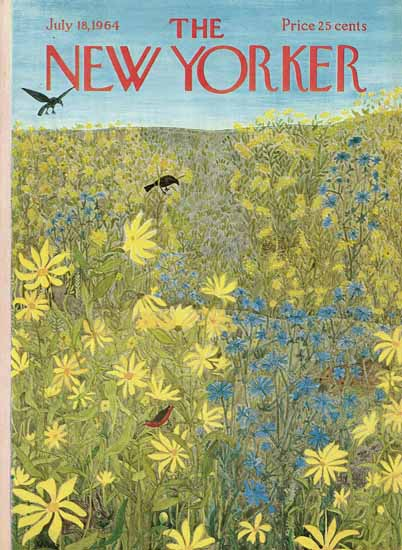 WomenArt Ilonka Karasz Cover The New Yorker 1964_07_18 Copyright | 69 Women Cover Artists and 826 Covers 1902-1970