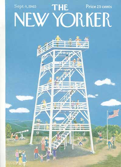 WomenArt Ilonka Karasz Cover The New Yorker 1965_09_04 Copyright | 69 Women Cover Artists and 826 Covers 1902-1970