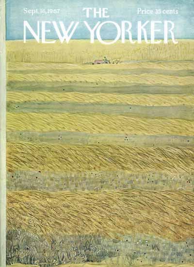 WomenArt Ilonka Karasz Cover The New Yorker 1967_09_16 Copyright | 69 Women Cover Artists and 826 Covers 1902-1970