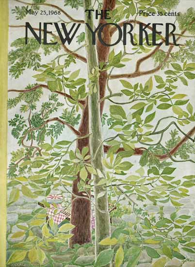 WomenArt Ilonka Karasz Cover The New Yorker 1968_05_25 Copyright | 69 Women Cover Artists and 826 Covers 1902-1970