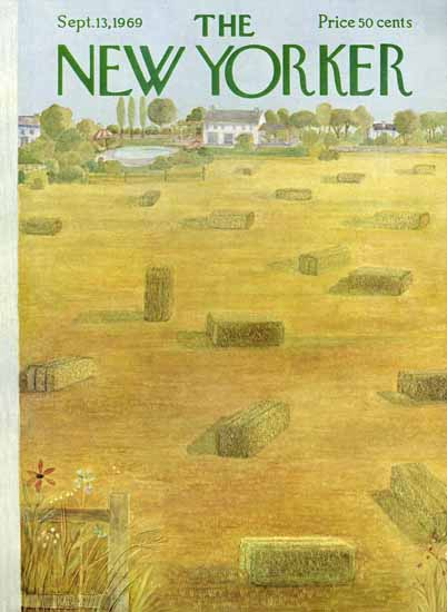 WomenArt Ilonka Karasz Cover The New Yorker 1969_09_13 Copyright   69 Women Cover Artists and 826 Covers 1902-1970