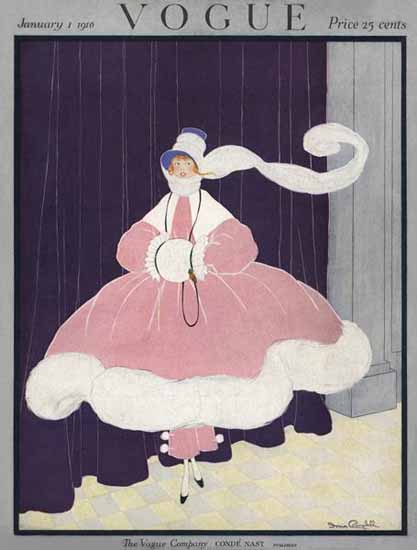 WomenArt Irma Campbell Vogue Cover 1916-01-01 Copyright | 69 Women Cover Artists and 826 Covers 1902-1970