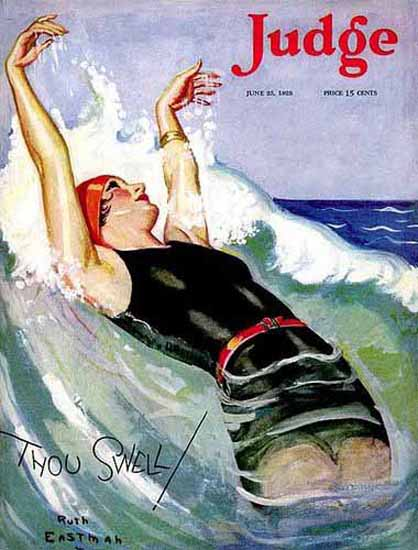WomenArt Judge Magazine Thou Swell 1928 Ruth Eastman Rodgers | 69 Women Cover Artists and 826 Covers 1902-1970