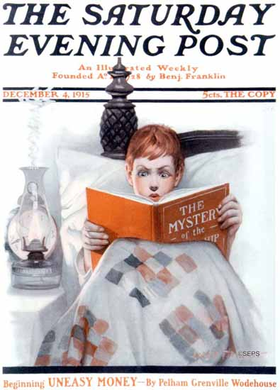 WomenArt Leslie Thrasher Cover Saturday Evening Post 1915_12_04 | 69 Women Cover Artists and 826 Covers 1902-1970