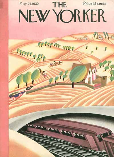 WomenArt Madeline S Pereny The New Yorker 1930_05_24 Copyright | 69 Women Cover Artists and 826 Covers 1902-1970