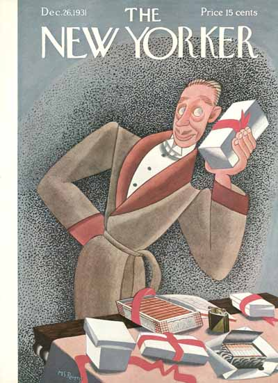 WomenArt Madeline S Pereny The New Yorker 1931_12_26 Copyright | 69 Women Cover Artists and 826 Covers 1902-1970