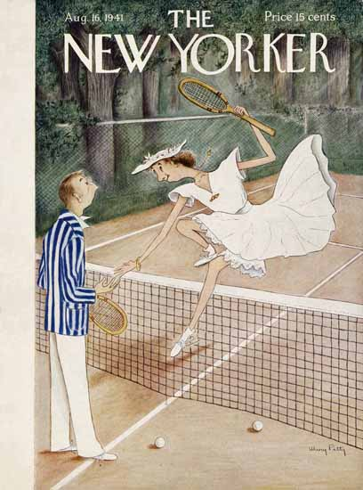 WomenArt Mary Petty Cover The New Yorker 1941_08_16 Copyright | 69 Women Cover Artists and 826 Covers 1902-1970