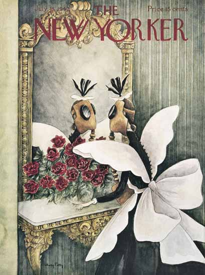 WomenArt Mary Petty Cover The New Yorker 1942_07_18 Copyright | 69 Women Cover Artists and 826 Covers 1902-1970