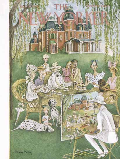 WomenArt Mary Petty Cover The New Yorker 1948_07_31 Copyright | 69 Women Cover Artists and 826 Covers 1902-1970
