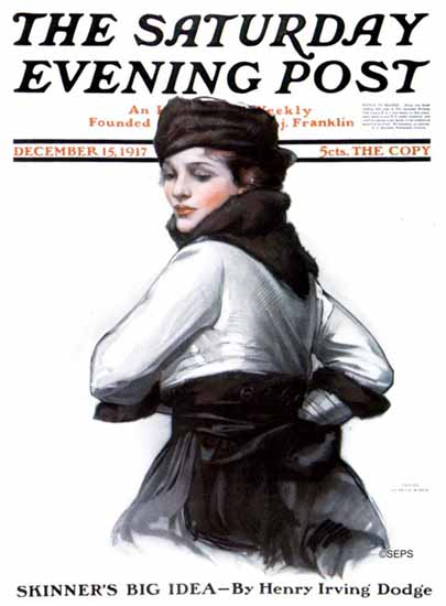 WomenArt Neysa McMein Cover Saturday Evening Post 1917_12_15 | 69 Women Cover Artists and 826 Covers 1902-1970