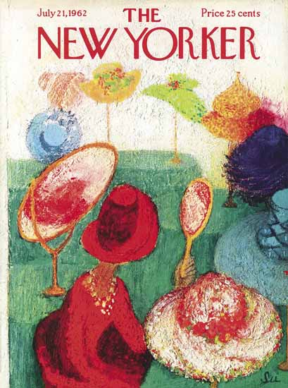 WomenArt Su Zeigler Cover The New Yorker 1962_07_21 Copyright | 69 Women Cover Artists and 826 Covers 1902-1970