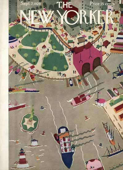 WomenArt Sue Williams Cover The New Yorker 1929_09_07 Copyright   69 Women Cover Artists and 826 Covers 1902-1970