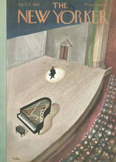 WomenArt Susanne Suba Cover The New Yorker 1942_04_11 Copyright | 69 Women Cover Artists and 826 Covers 1902-1970
