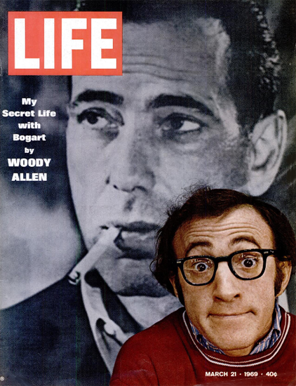 Woody Allen and Play It Again Sam 21 Mar 1969 Copyright Life Magazine | Life Magazine Color Photo Covers 1937-1970