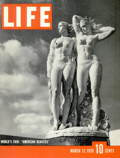 Worlds Fair American Beauties 13 Mar 1939 Copyright Life Magazine | Life Magazine BW Photo Covers 1936-1970