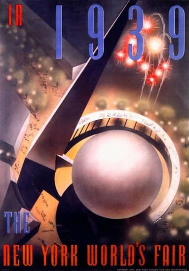 Worlds Fair New York 1939 Nembhard Culin | Vintage Ad and Cover Art 1891-1970