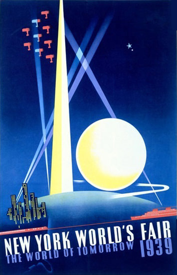Worlds Fair New York 1939 World Of Tomorrow | Vintage Ad and Cover Art 1891-1970