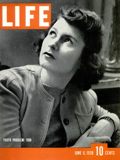 Young People 1938 6 Jun 1938 Copyright Life Magazine | Life Magazine BW Photo Covers 1936-1970