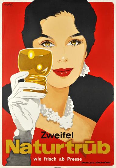Zweifel Naturtrue Frisch Ab Presse Schweiz 1957 | Sex Appeal Vintage Ads and Covers 1891-1970